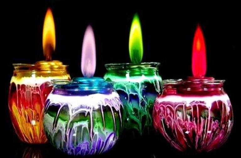 Бізнес-ідея свічки з різнобарвним полум'ям