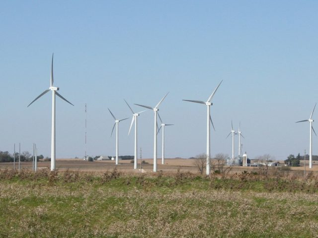 Вітроенергетика – головне альтернативне джерело енергії в США
