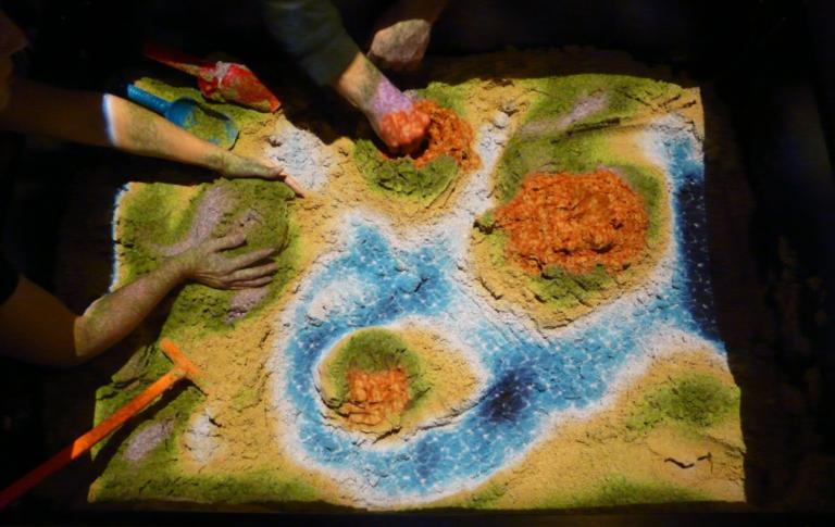 Бізнес на інтерактивній пісочниці