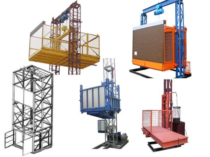 Разнообразие грузовых подъёмников