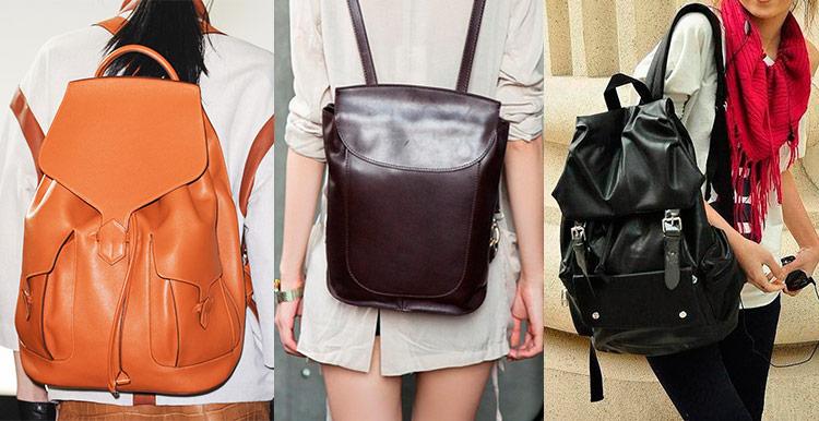 733314062fcb Самые модные женские кожаные рюкзаки