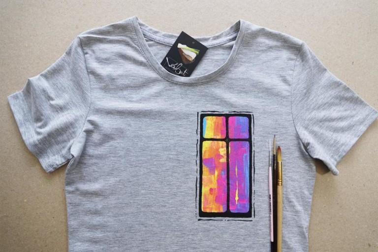 Як створити футболку з власним дизайном